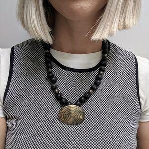 Jewelry - Moana vibes tribal statement necklace